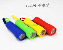 portable mini led rubber flashlight best selling 3AAA light torch
