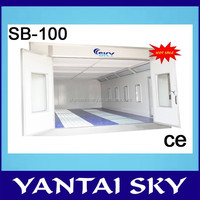 2015 Sky spray booth heating system for cars with compepetitive price