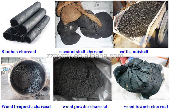 wood carbonization charcoal furnace