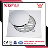 anti-odor stainless steel drain cover with clean out