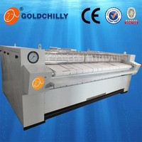 Electric/Gas/steam hearting industrial single roller or double roller hotel flatwork ironer