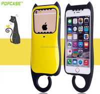 Good price cute plastic mobile phone for iphone 6 case silicone