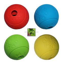 New 8CM dog food ball/pet treat ball/ pet toy snack ball