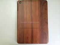 new design beautiful grain case wooden case for ipad air