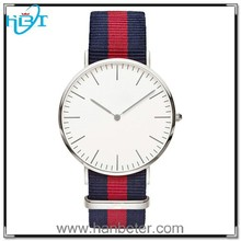 International famous japan top brand fabric strap ladies watches with cool waterproof