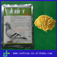 Drugs for Poultry Coccidiosis Pigeon Medicines 4 in 1 Furaltadone - Ronidazole Powder