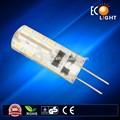 2015 producto caliente! 1.5w 120lm 110/220v ca/dc g4 lámpara led para el hogar