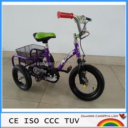 steel fram three wheels pedal go kart baby kid tricycle TR12-10