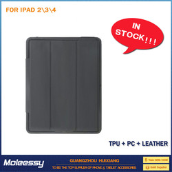 Good price universal smart leather cover case for ipad mini 2 for ipad 234
