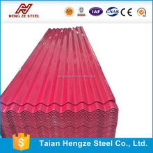 Good Quality Color Printing Sturdy 28 Gauge Corrugated Steel Roofing Sheet