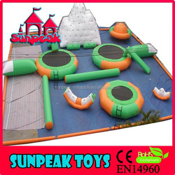 Hot Inflatable Water Park , Inflatable Floating Water Park , Giant Inflatable Water Park