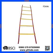 Plastic coaching agility ladder speed ladder sports training goods (FD694)