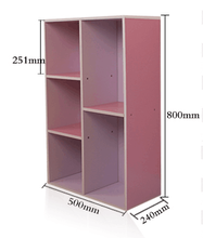 wooden easy design bookcase in competitive price.