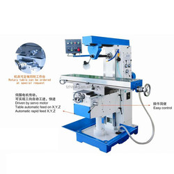 XL6030B vertical and horizontal milling machine tool with cheap price