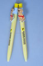 Dog Shape Clip Cartoon Ball Pen/Promotional Pen YB-107