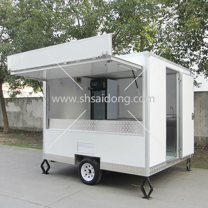 Hot Sale Mobile Kitchen Food Truck/Fast Food Trailer made in China ...