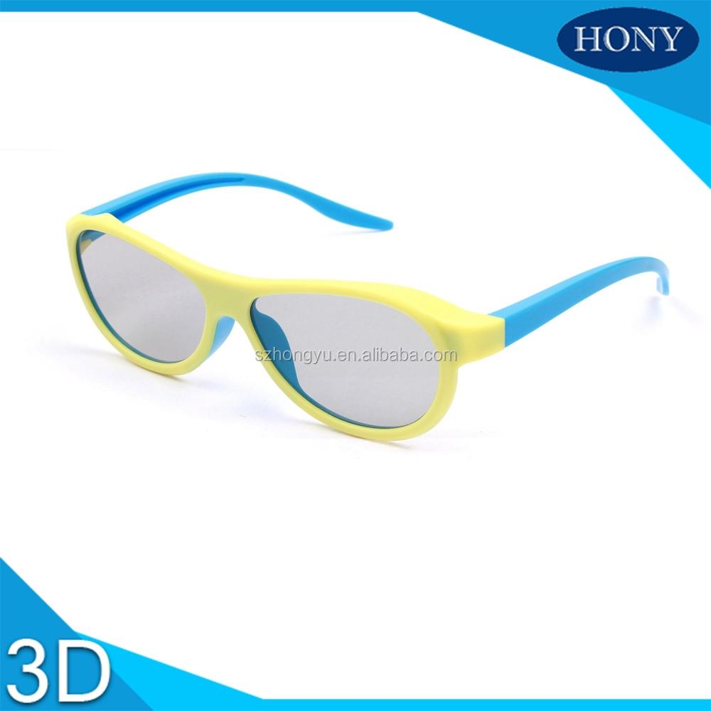 Для использования в кинотеатре 3D очки круговой поляризации