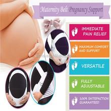 Factory supply White Maternity Pregnancy Support Belt/Brace Belly/Abdomen Band