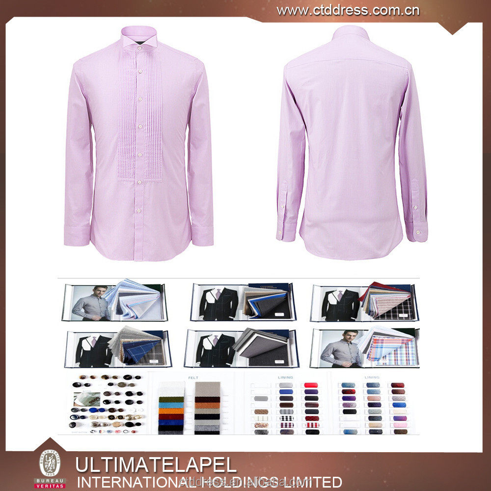 2015 bespoke tailor made pure cotton men business dress for Tailor made shirts online
