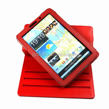 promotion colorful folio tablet protective case with strap for galaxy tab 7.7 p6800