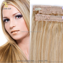 2015 Alibaba Express Hot Sale!!! Full Head High Quality Top Grade halo Hair Extension Full Head