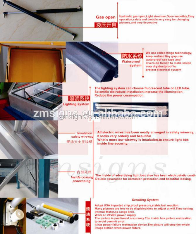 zm dg01sign board design samples billboard mega light box led display