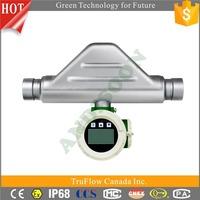 Andisoon Coriolis DN20 Top level flow meter sensor 4-20ma, medical flow sensor, water flow meter sensor 1
