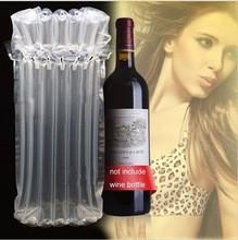 hbพลาสติก750mlขวดไวน์แก้วถุง125