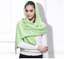 2015 new design knitting pattern cashmere women muslim head scarf