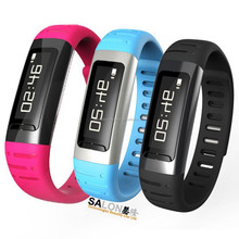2015 New Smart bracelet Bluetooth LED clock watch for Smart phone accessory