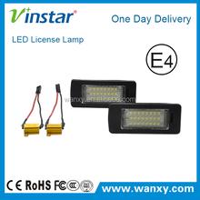 For SKODA Octavia 2013~ LED License Plate Light auto car lamp 18 SMD LED Tail light