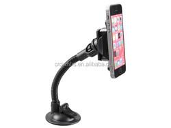 universal 360 degree rotation flexible long arms phone holder, car mount holder for mobile phone