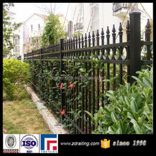 steel fence, wrought iron fence, metal fence