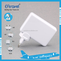 Universal 6 USB Port Plug Travel AC Power Adapter Socket Smart Wall Charger For Cell Phone Tablet Camera