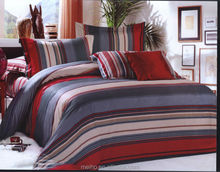 mordern design 100% cotton percale bedding set made in china