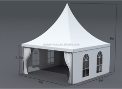 Lowest price arabic tent romantic wedding party tent 100km/h Wind load