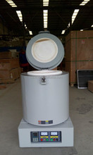 Round shape chamber Crucible Furnace up to 1200C for lab melting