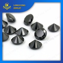 good quality material loose black spinel faceted