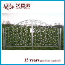 Alibaba Trade Assurance factory direct professional supplier wrought iron gate