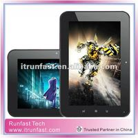 7 inch tablet with Android 4.0 Google Operation System