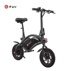 Best selling acelerador bicicleta elétrica com farol e bicicleta 2018 DYU D1F