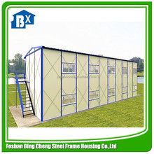 Slope roof K style prefabricated house