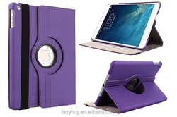 Belt leather case for ipad air case 360 rotating standing case for ipad 5/ipad air