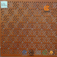 Flame Retardant MDF Wooden Timber Acoustic Panels Noise Barrier Sound Proof Walls