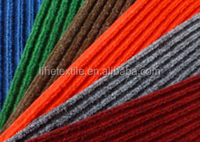 Hot sale polypropylene fiber Double striped carpet with PVC backing