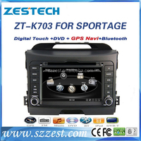 Used cars in korea Touch screen 2 din car dvd gps for kia sportage car multimedia player