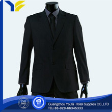 anti-wrinkle Guangzhou polyester/cotton top brand suits for men 2012