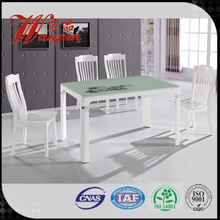 modern square glass dining table