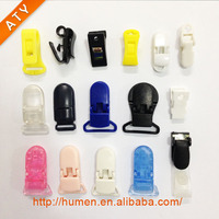 many stlyle plastic suspender clips