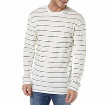 China manufacture special branded striped t-shirts